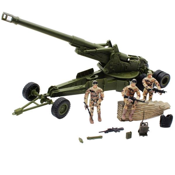 اکشن فیگور ام اند سی مدل Militery Howitzer 77029
