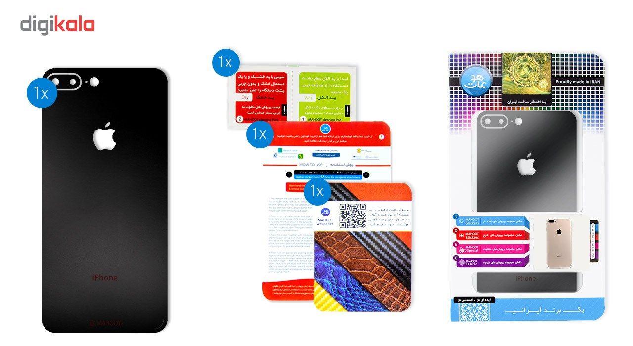 برچسب پوششی ماهوت مدل Black-color-shades Special مناسب برای گوشی  iPhone 7 Plus main 1 11