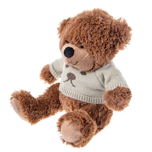 عروسک یاران مدل خرس سوئیشرت کاموایی ارتفاع 30 سانتی متر