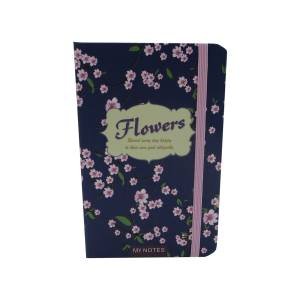 دفتر یادداشت فانزی مدل Pink Flowers