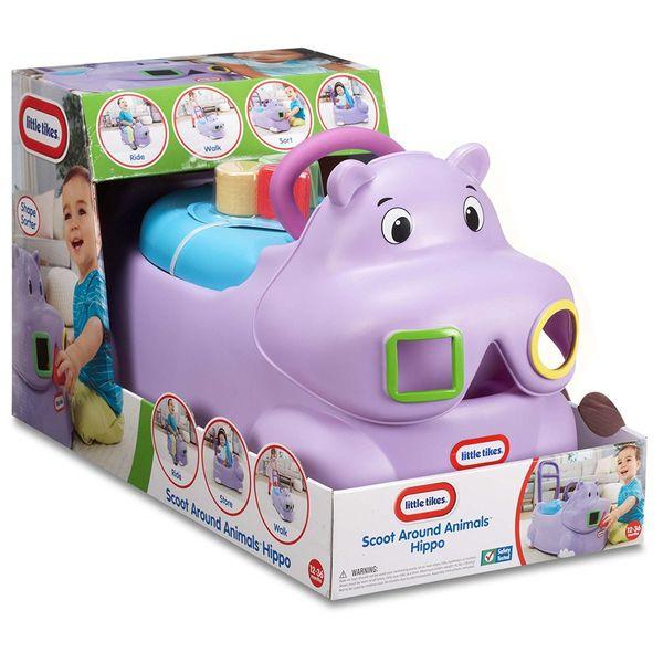 واکر لیتل تایکس Scoot Around Hippo Ride