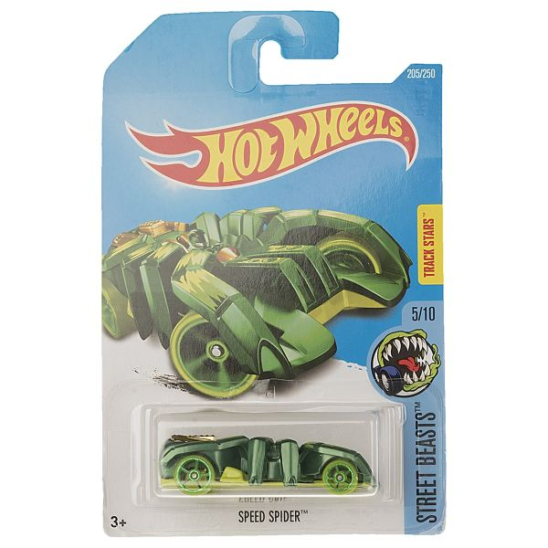 ماشین بازی متل سری هات ویلز مدل Speed Spider
