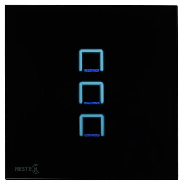 کلید لمسی هوشمند نستک مدل NE4-LS01B-G3