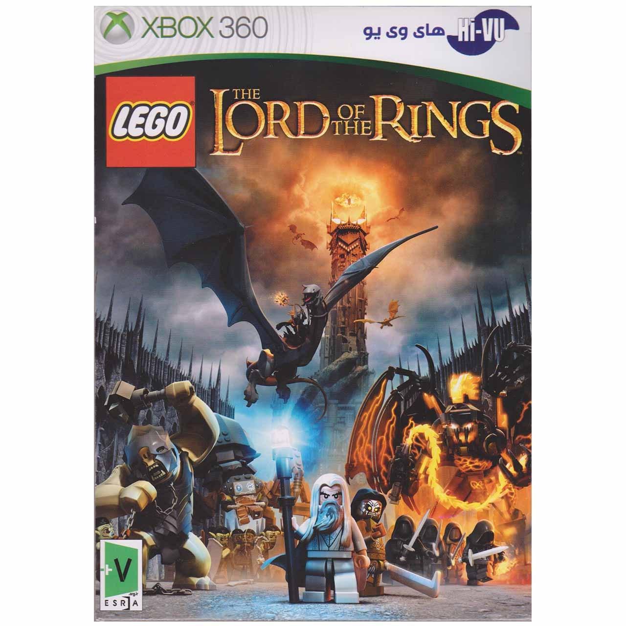 بازی LEGO  The Lord Of The Rings مخصوص ایکس باکس 360