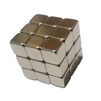 آهن ربا مدل مکعبی بسته27  عددی
