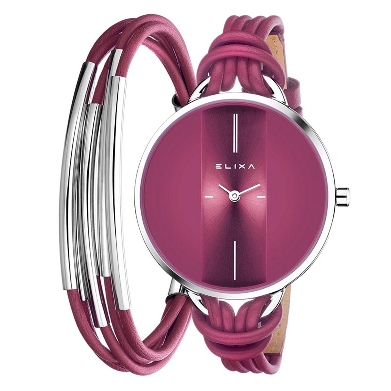 خرید ساعت مچی عقربه ای زنانه الیکسا مدل E096-L367-K1