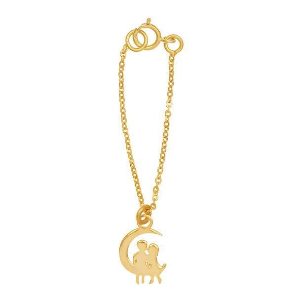 آویز ساعت طلا 18 عیار رزا مدل WTC97