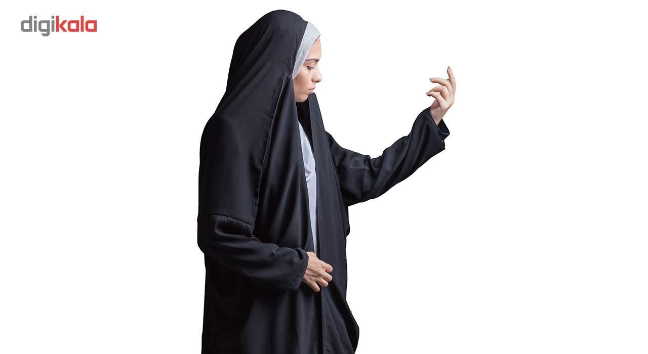 چادر اماراتی کرپ کن کن حجاب فاطمی مدل 201035kn