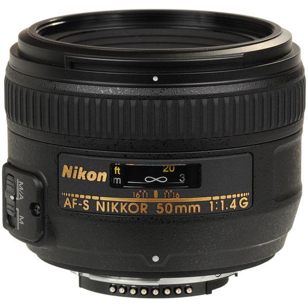 لنز نیکون مدل 50mm f/1.4G AF-S