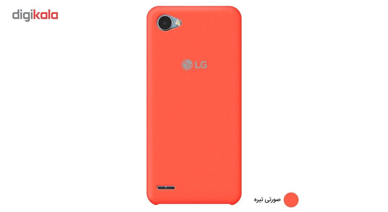 کاور سیلیکونی مناسب برای گوشی موبایل ال جی Q6 main 1 5