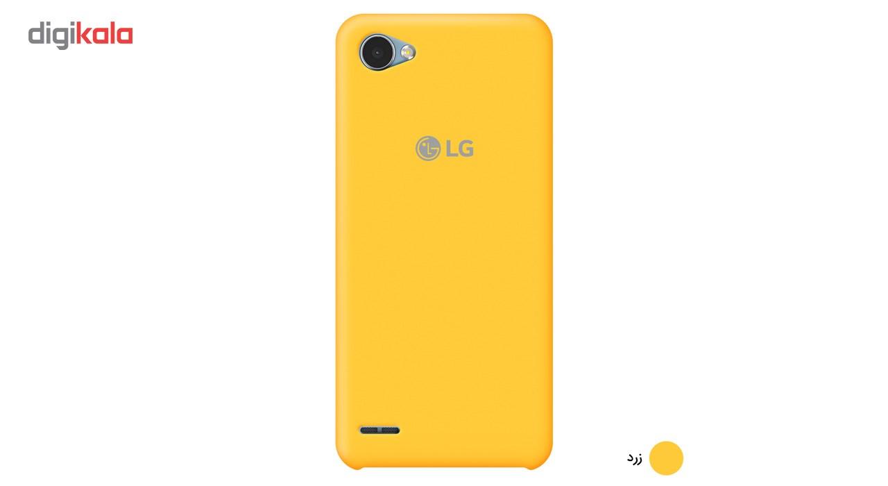 کاور سیلیکونی مناسب برای گوشی موبایل ال جی Q6 main 1 6