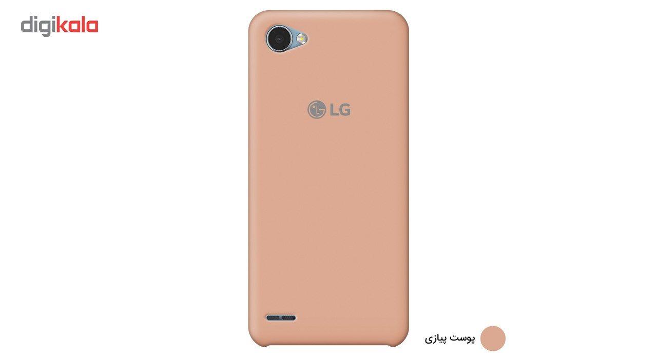 کاور سیلیکونی مناسب برای گوشی موبایل ال جی Q6 main 1 7