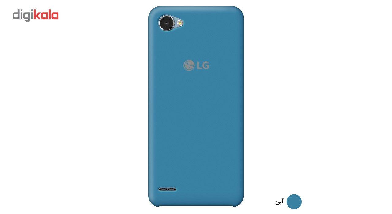 کاور سیلیکونی مناسب برای گوشی موبایل ال جی Q6 main 1 8