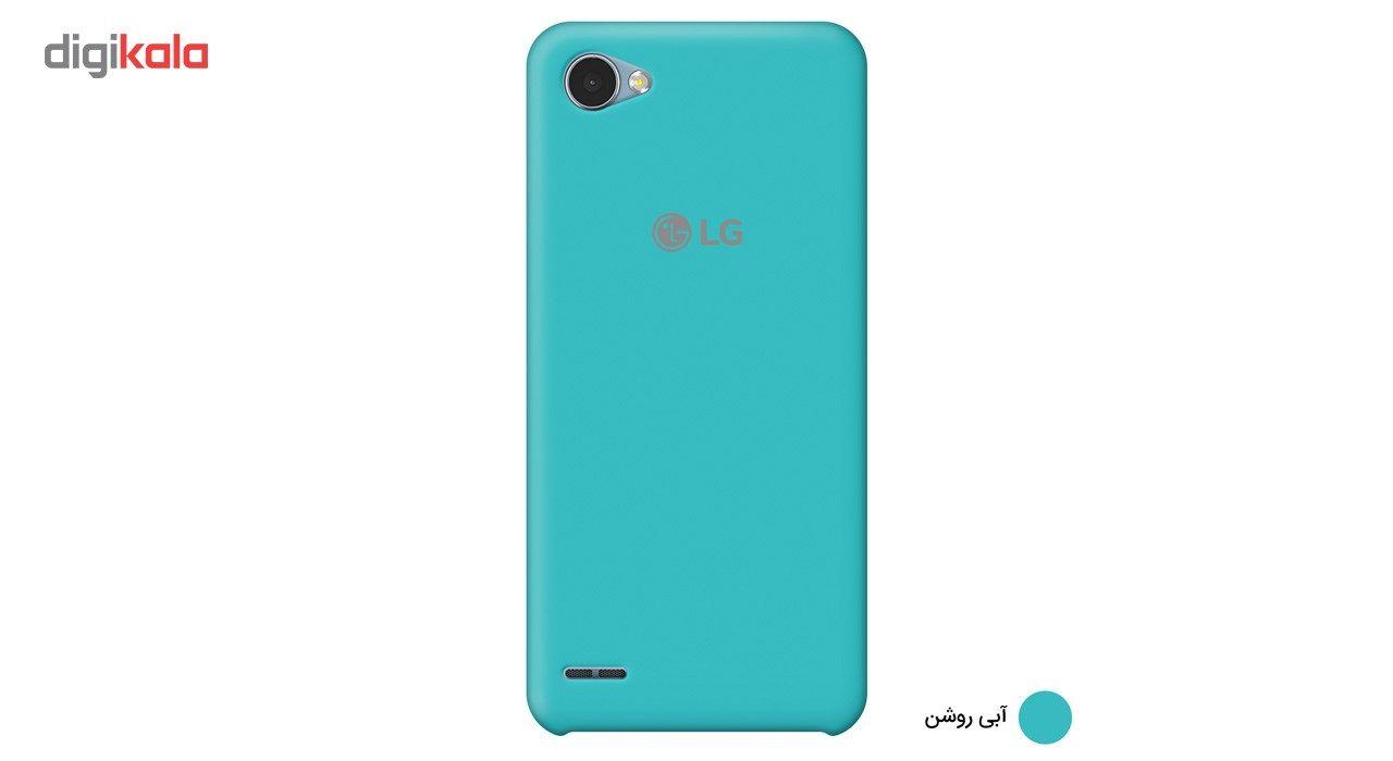 کاور سیلیکونی مناسب برای گوشی موبایل ال جی Q6 main 1 9