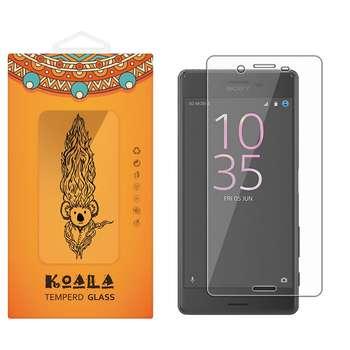 محافظ صفحه نمایش شیشه ای کوالا مدل Tempered مناسب برای گوشی موبایل سونی Xperia X