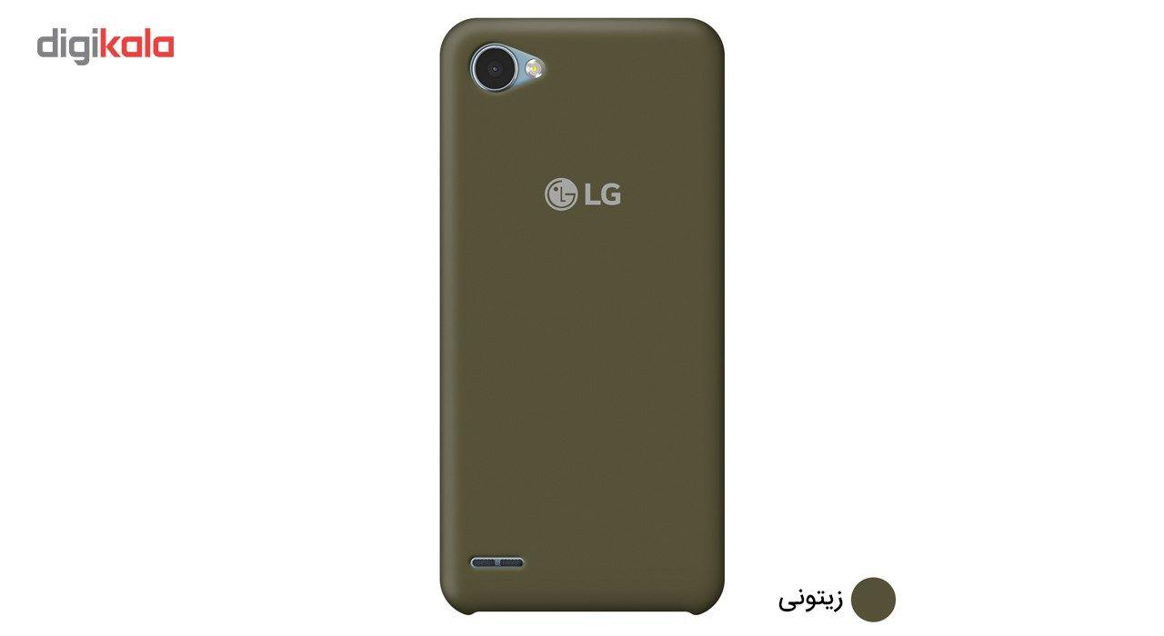 کاور سیلیکونی مناسب برای گوشی موبایل ال جی Q6 main 1 12