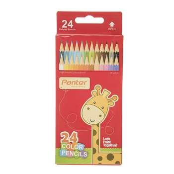 مداد رنگی 24 رنگ پنتر