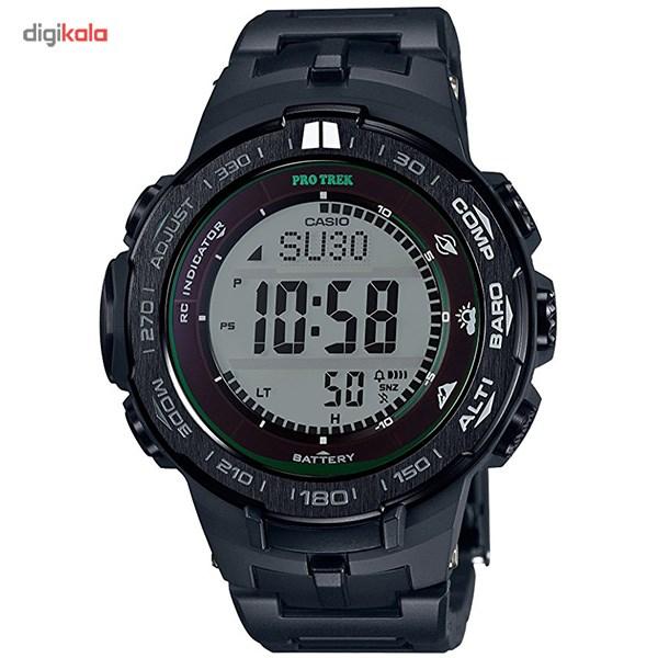 خرید ساعت مچی دیجیتالی مردانه کاسیو مدل PRW-3100FC-1DR | ساعت مچی