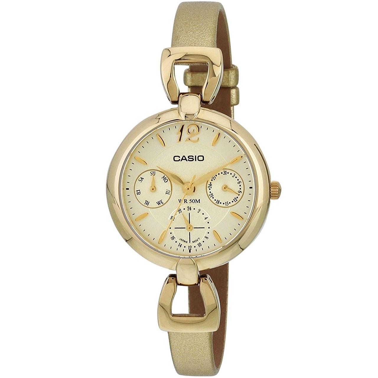 خرید ساعت مچی عقربه ای زنانه کاسیو مدل LTP-E401GL-9AVDF | ساعت مچی