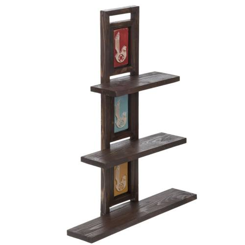 طبقه چوبی گالری اسعدی مدل پله ای طرح فرسکو کد 66076