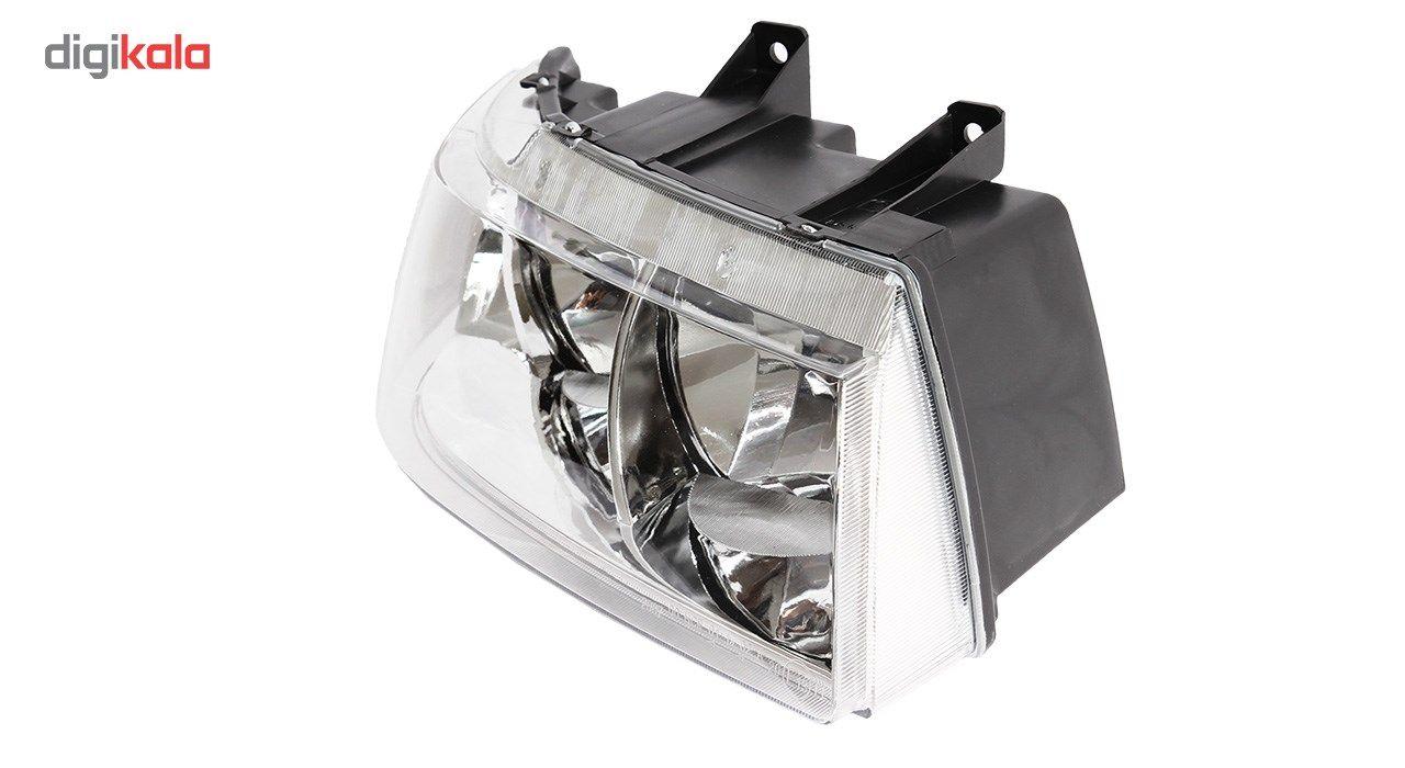 چراغ جلو راست خودرو اس ان تی مدل SNTSMHR مناسب برای سمند main 1 2
