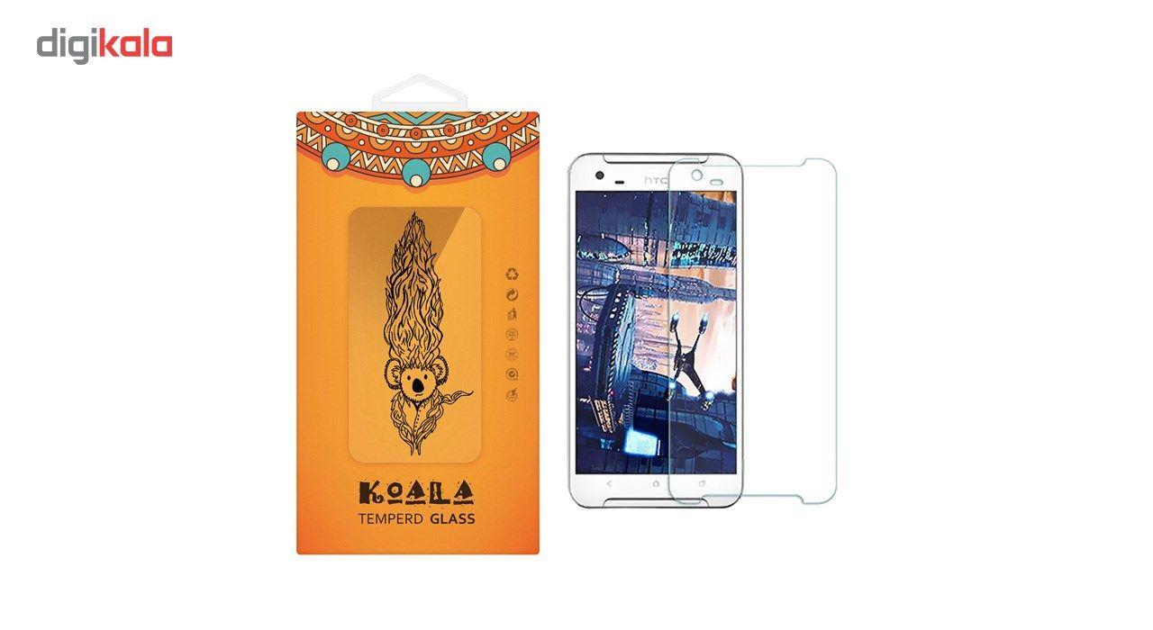 محافظ صفحه نمایش شیشه ای کوالا مدل Tempered مناسب برای گوشی موبایل اچ تی سی One X9 main 1 1