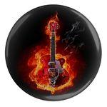 پیکسل طرح گیتار و آتش مدل S4978