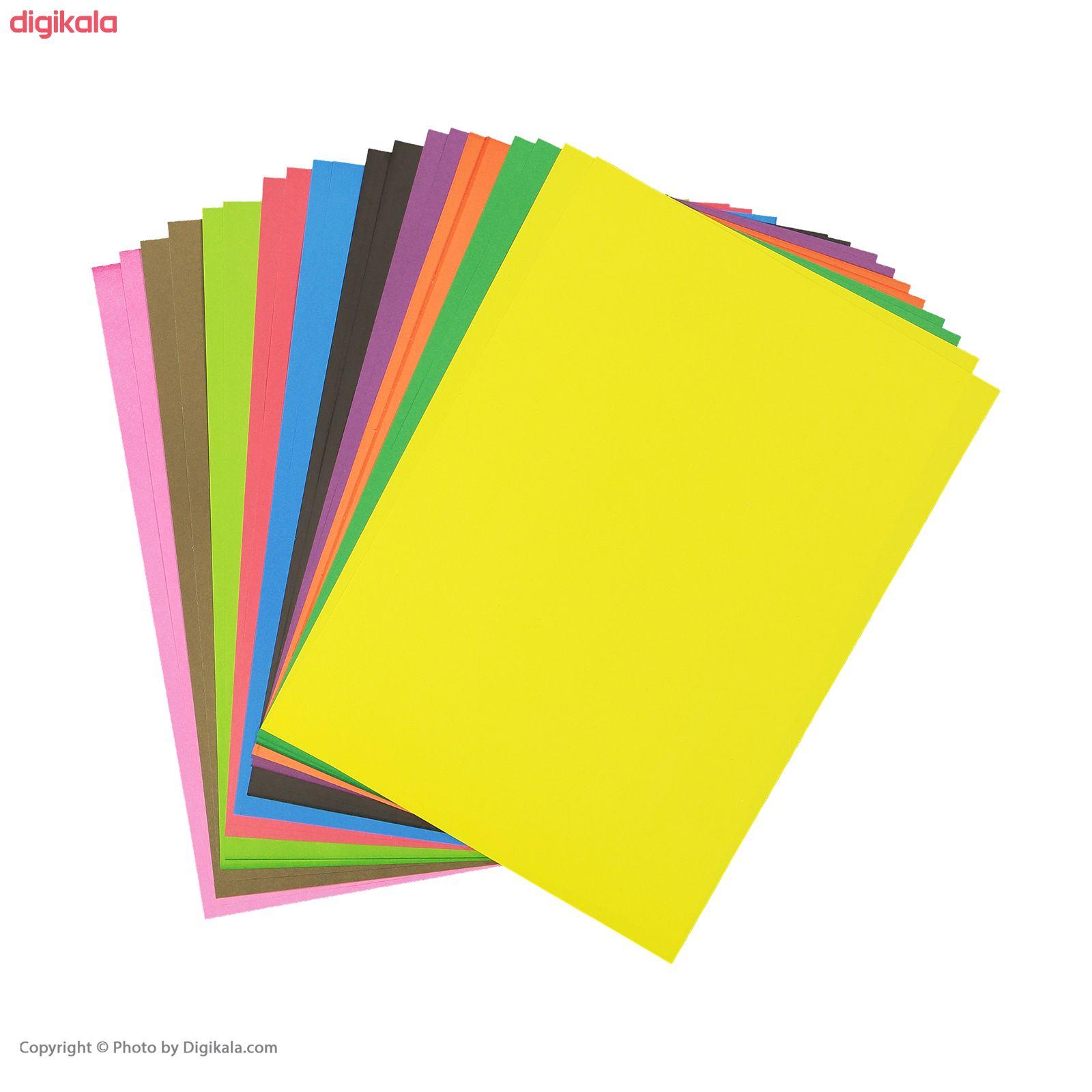 مقوا رنگی کد 04 سایز 24x34 (بزرگتر از A4) بسته 20 عددی main 1 4