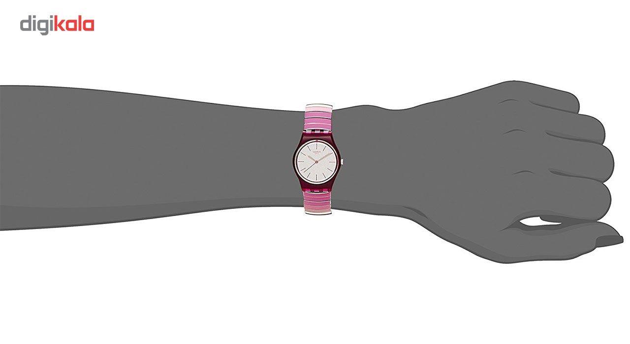 ساعت مچی عقربه ای زنانه سواچ مدل LP144A -  - 2