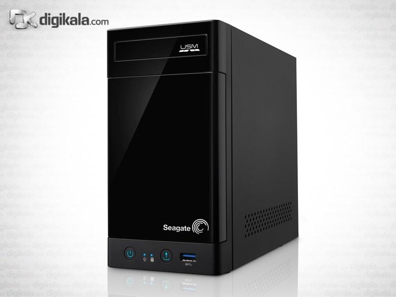 ذخیره ساز تحت شبکه 2Bay سیگیت مدل بیزینس استوریج بدون هارد دیسک