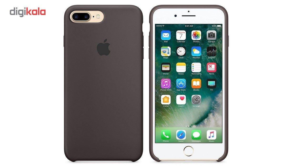 کاور سیلیکونی مناسب برای گوشی موبایل آیفون 7/8 پلاس