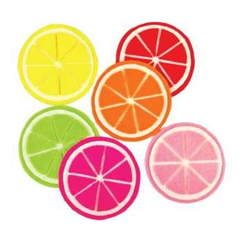 زیر لیوانی دیارپینو مدل پرتقال مجموعه 6 عددی