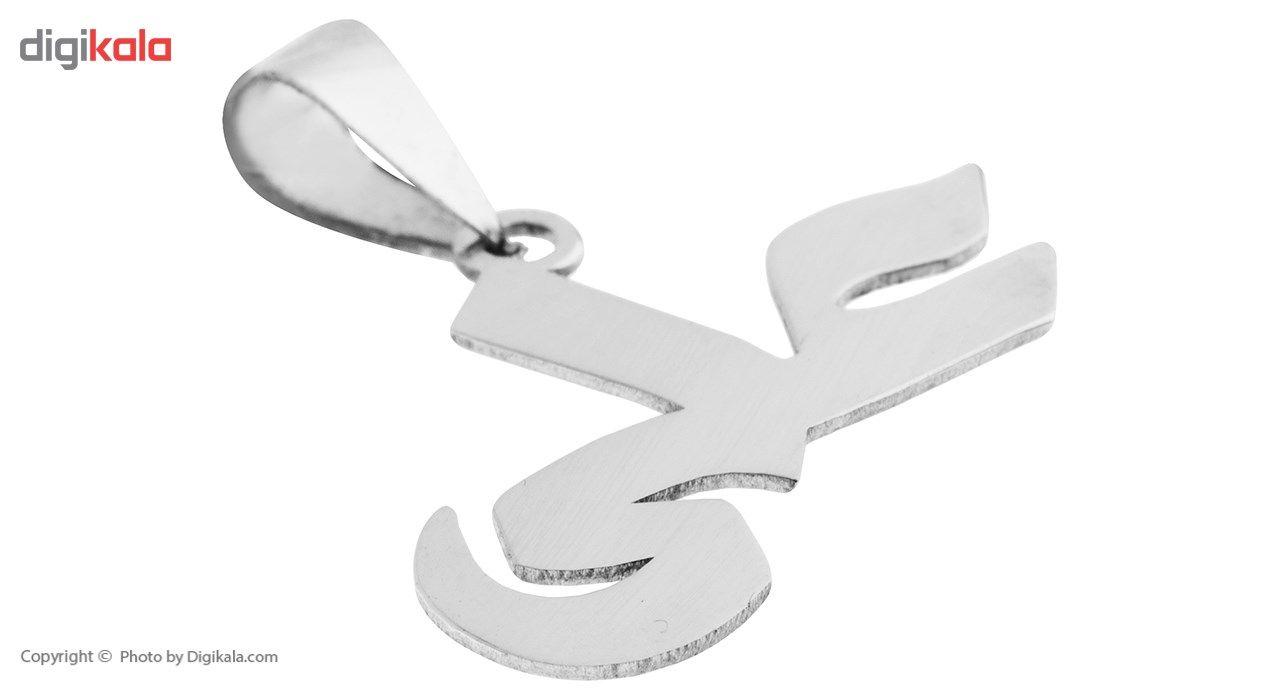 آویز گردنبند نقره مایا مدل MSN011 -  - 1