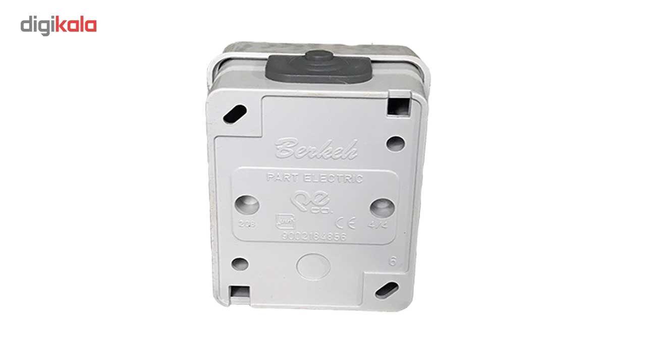 پریز برق ارت دار پارت الکتریک مدل صنعتی روکار main 1 3