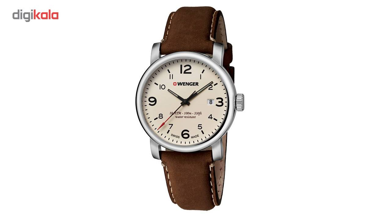 ساعت مچی عقربه ای مردانه ونگر مدل 01.1041.138 -  - 2
