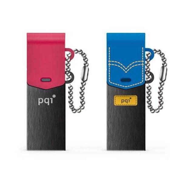 فلش مموری USB 3.0 & OTG پی کیو آی مدل کانکت 301 ظرفیت 32 گیگابایت