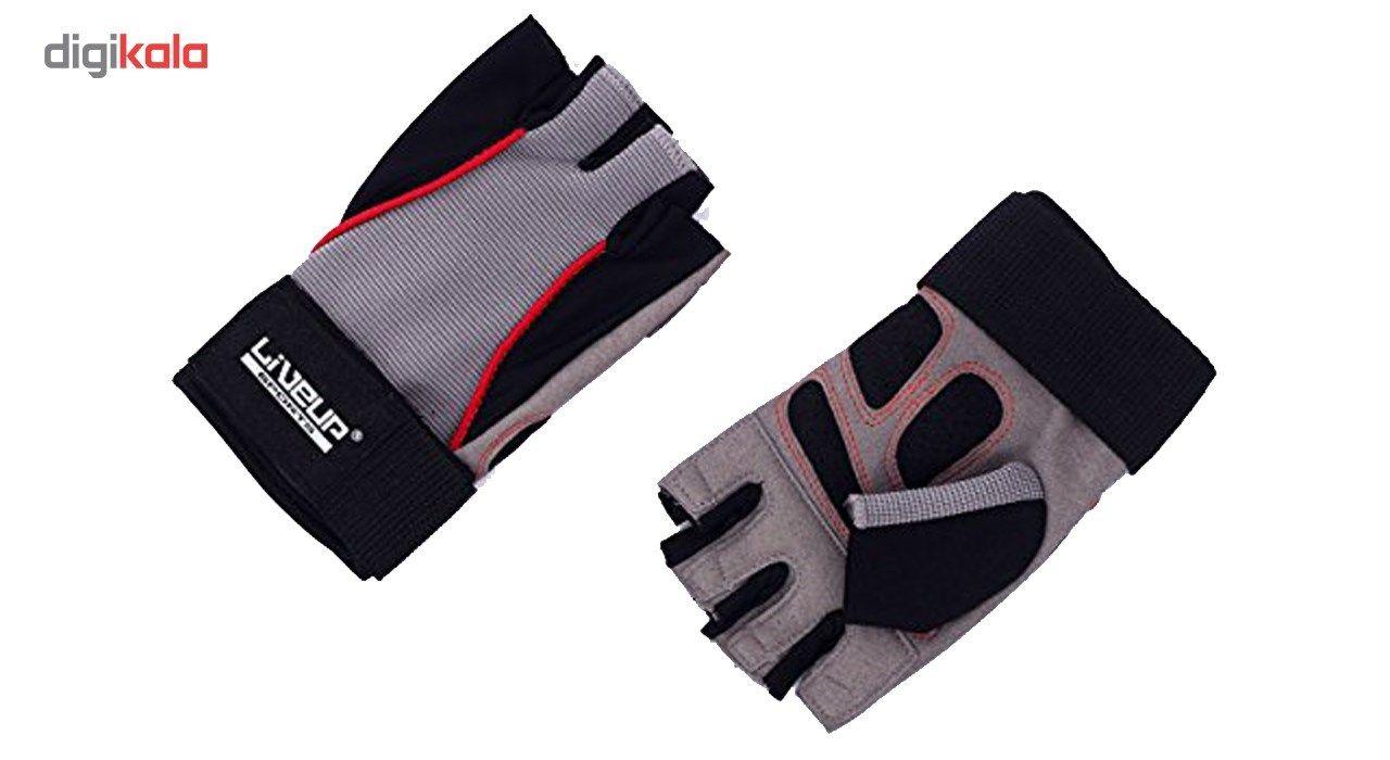 دستکش ورزشی لایوآپ مدل LS3071 main 1 2