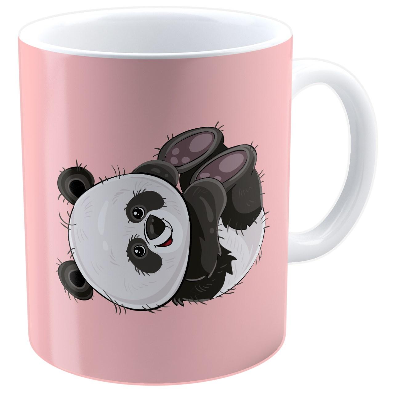 ماگ شین دیزاین طرح بچه پاندا - 4025