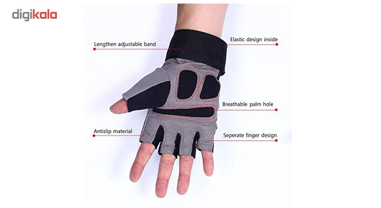 دستکش ورزشی لایوآپ مدل LS3071 main 1 5