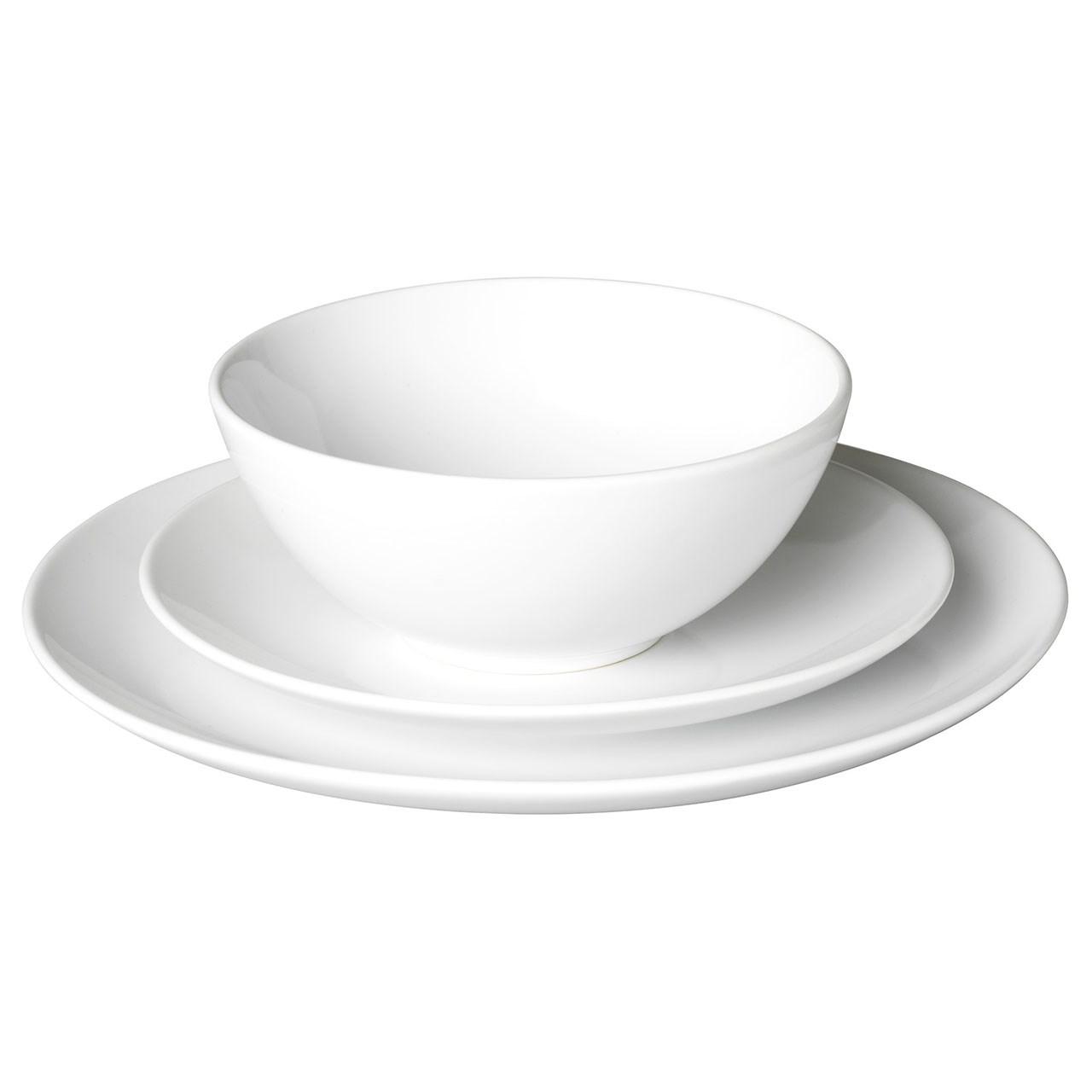 عکس سرویس غذاخوری 18 پارچه ایکیا مدل Fargrik