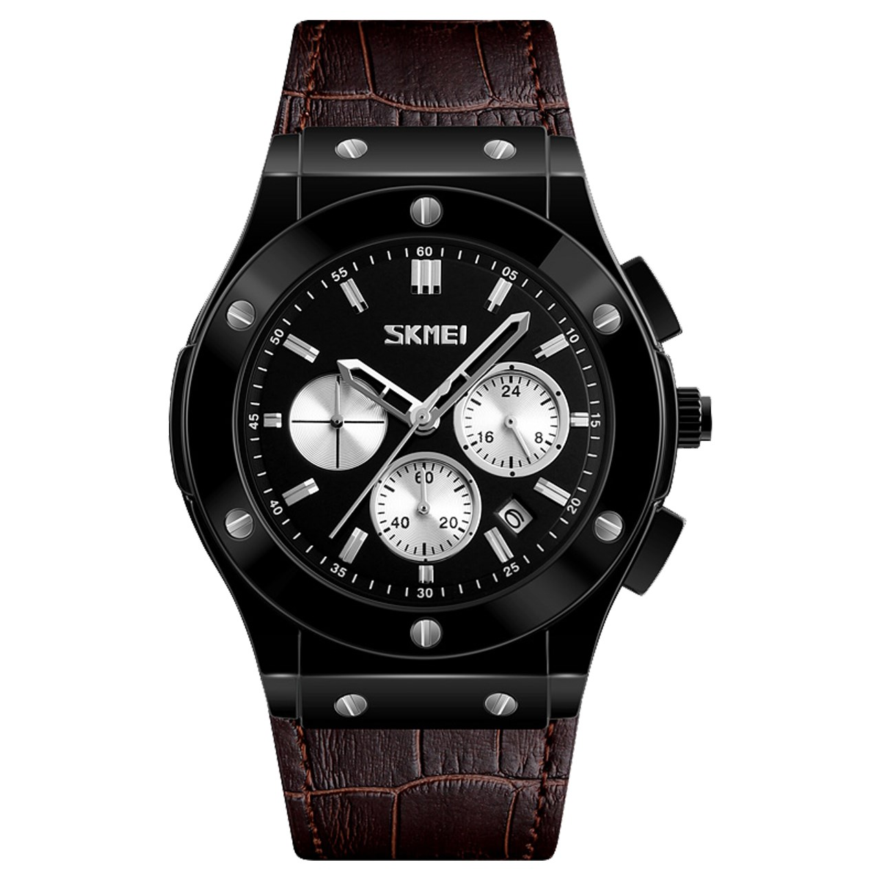 ساعت مچی عقربه ای مردانه اسکمی مدل S9157/Brown