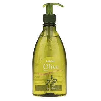 مایع دستشویی لطیفه مدل Olive Sense مقدار 400 گرم