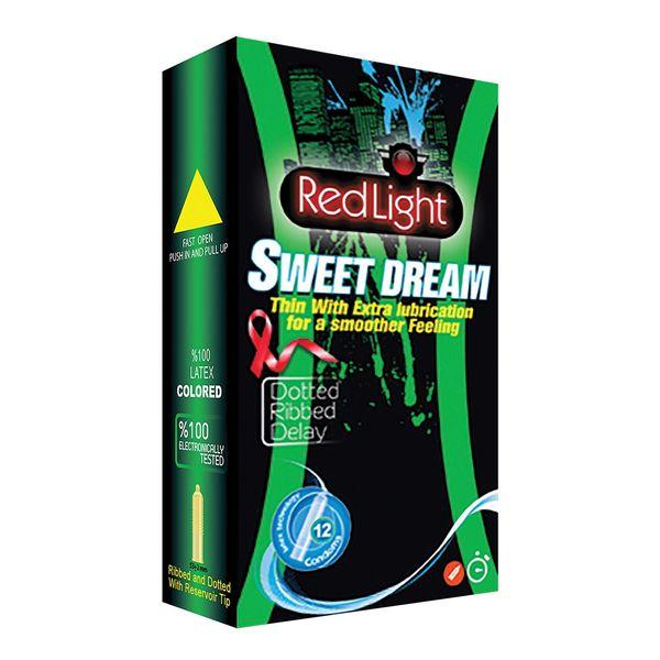 کاندوم ردلایت مدل Sweet Dream بسته 12 عددی