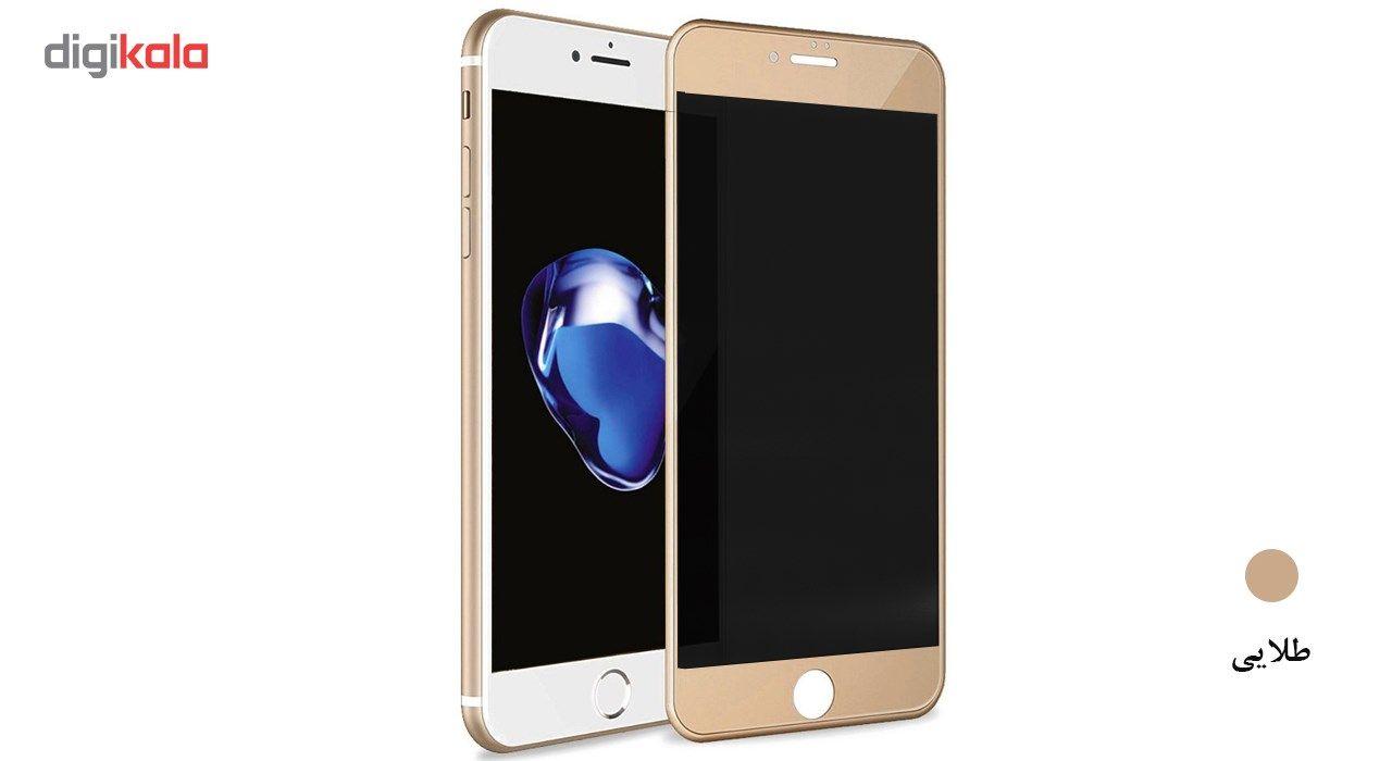 محافظ صفحه نمایش شیشه ای گلس پرو مدل Carbon Privacy مناسب برای گوشی اپل   آیفون 6/6S main 1 6