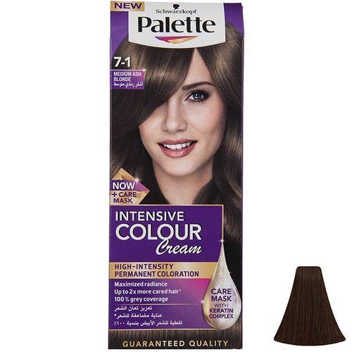 کیت رنگ موی پلت سری Intensive مدل Medium Ash Blonde شماره 1-7
