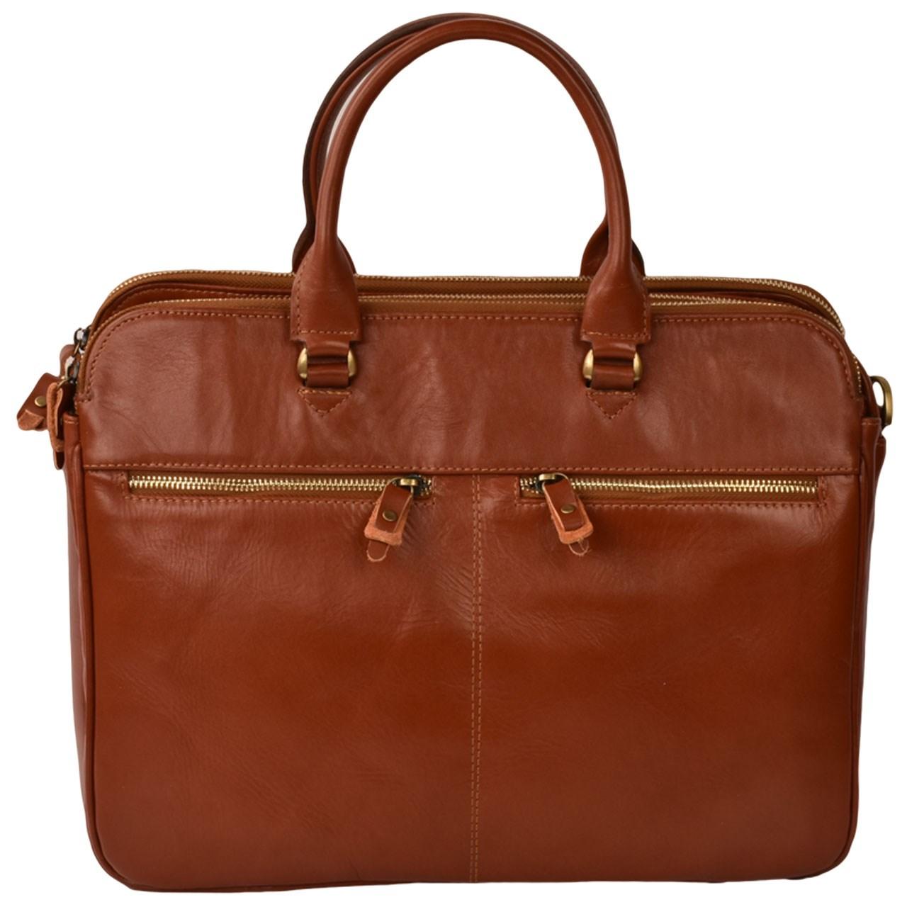 کیف اداری چرم طبیعی کهن چرم مدل L90-1