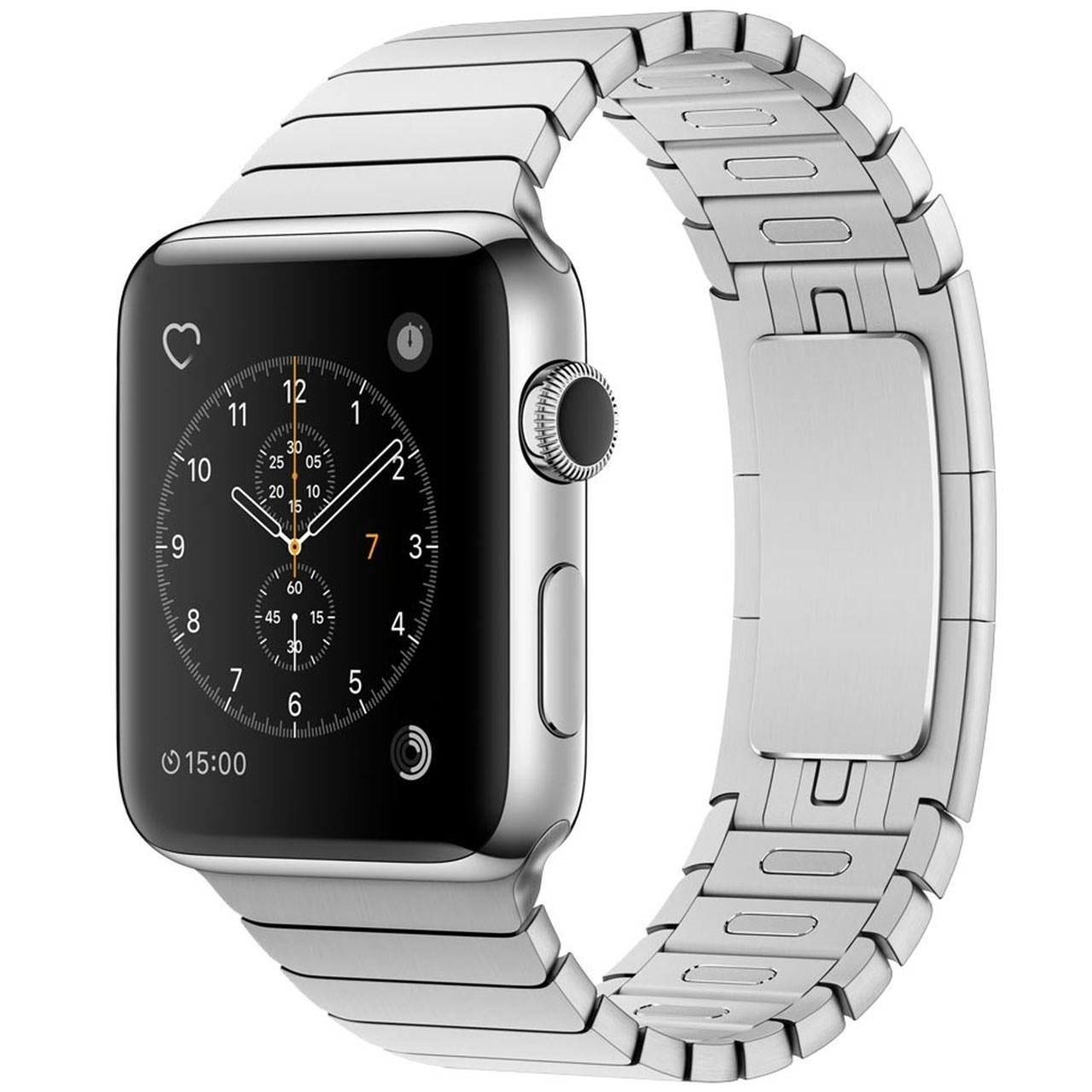 ساعت هوشمند اپل واچ 2 مدل 42mm Stainless Steel Case with Link Bracelet