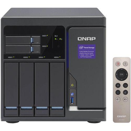 ذخیره ساز تحت شبکه کیونپ مدل TVS-682-i3-8G بدون دیسک