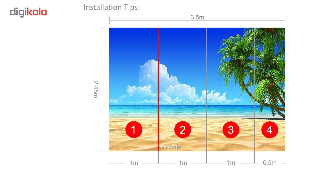 پوستر دیواری سه بعدی بومرنگ کد BW210 main 1 5