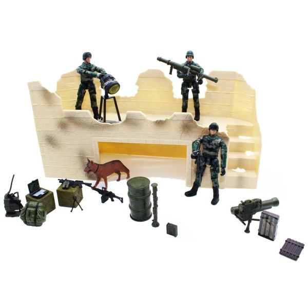اکشن فیگور ام اند سی مدل Militery Assult Unit 77082
